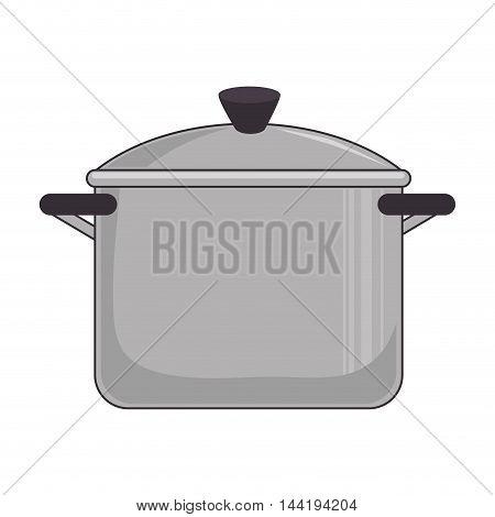 kitchen pot utensil tool kitchenware food cuisine vector illustration