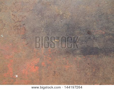 The texture of the metal sheet and coating