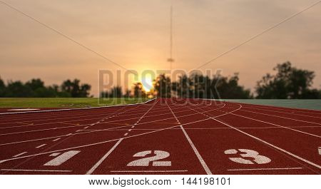 Ground Running, runnig sport, racetrack stadium run