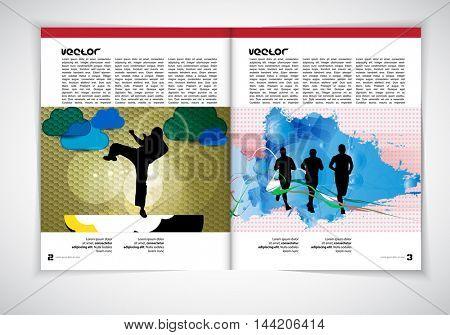 Layout magazine