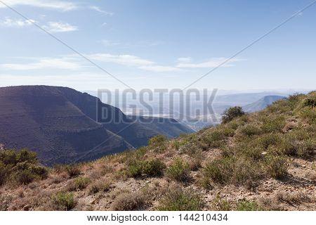 Mountain Lookout View - Graaff-reinet Landscape