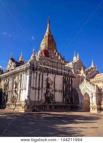 Ananda Phaya Temple in Bagan Myanmar (Burma)