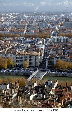 Aerial View At Lyon