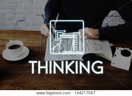 Aspirations Be Creative Thinking Draft Ideas Concept