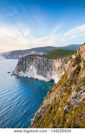 Cape Keri. Greek Island Zakynthos