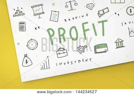 Profit Income Money Financial Earning Proceeds Concept