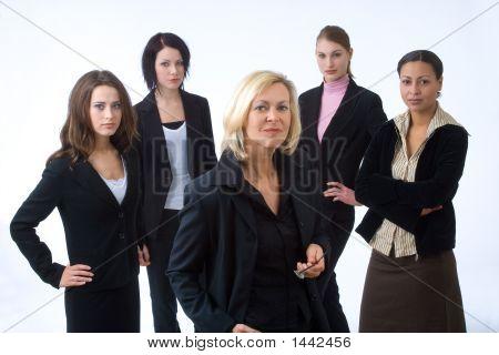 Cinco empresarios