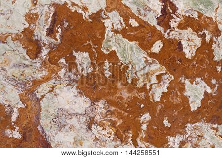 Abstract rusty color marble stone pattern background