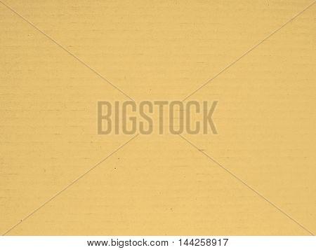 White Corrugated Cardboard Background Sepia