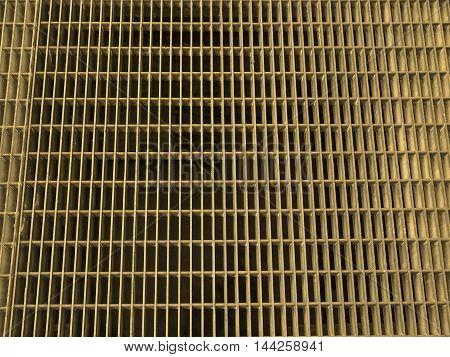 Grid Mesh Sepia