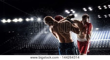 Box professional match . Mixed media