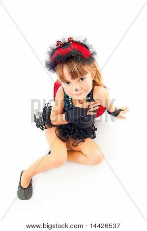 Child As Ladybug