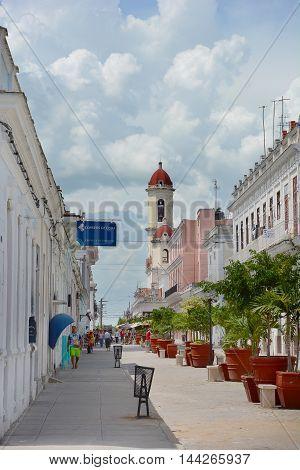 Cienfuegos Street Scene