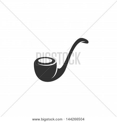 Tobacco pipes icon isolated on white background