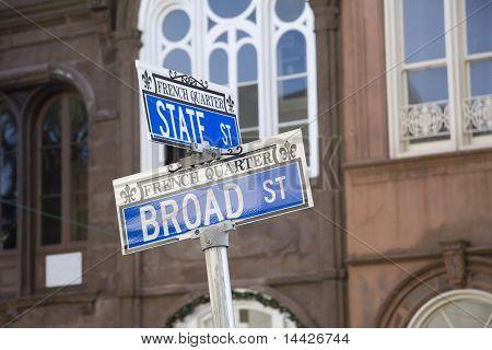placa de rua do bairro de francês