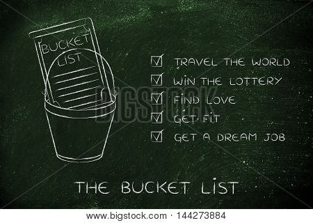 Bucket List Of Lifestyle Dreams To Accomplish, Ticked Off