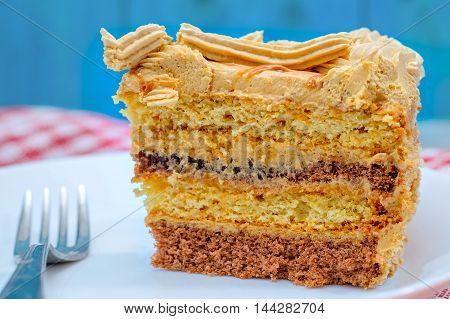 Dessert - Chocolate Layer Cake