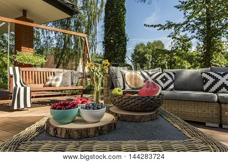 Patio In Luxurious Style Idea