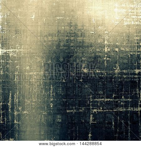 Art vintage texture for background in grunge style. With different color patterns: gray; blue; yellow (beige); brown; black