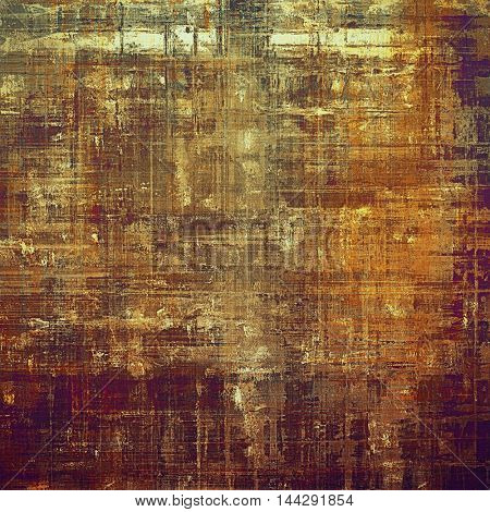 Abstract grunge weathered background of vintage texture. With different color patterns: gray; red (orange); purple (violet); yellow (beige); brown; pink