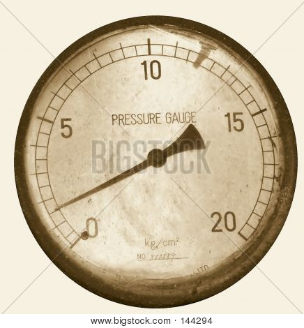 Vintage Pressure Gauge