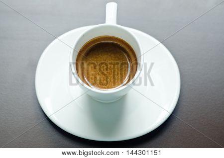 Glass Espresso Shots,glass Coffee With Coffee.