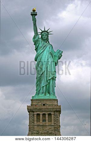Beautiful view of Statue of liberty, New York. USA.