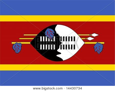 Swaziland National Flag