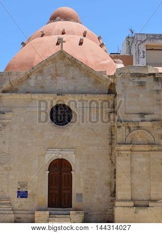 Agios Ekaterinis (St Catherine of Sinai) Church in Heraklion, Crete, Greece
