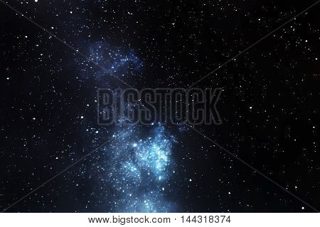 Milky Way galaxy Long exposure photography beautiful night sky