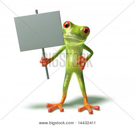 Frog : insert your text