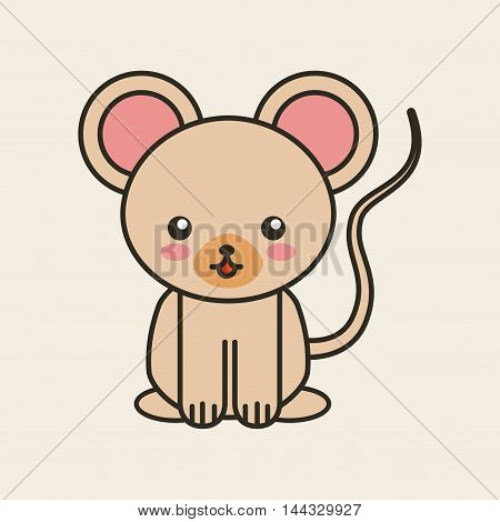 cute koala tender isolated icon vector illustration design