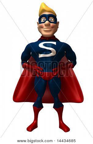 Divertido super-herói