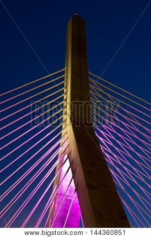 Zakim Bunker In Boston, Massachusetts, Usa