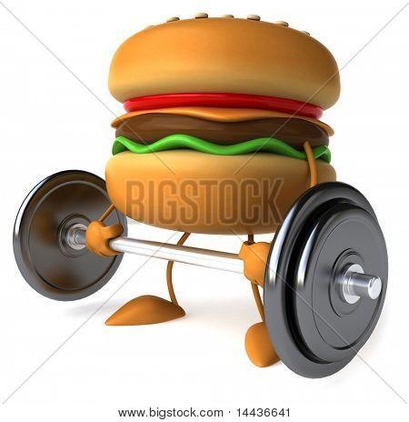 Strong hamburger
