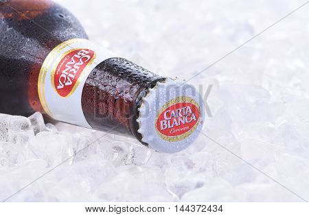 Carta Blanca Beer On Ice