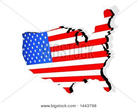 Map The Usa
