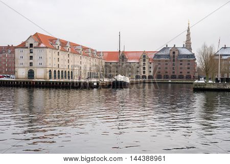 One of the many canals in the Copenhagen