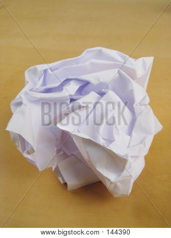 Paper Wad