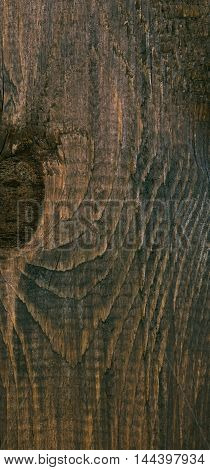 Aged natural wood planks texture with signs of weathering