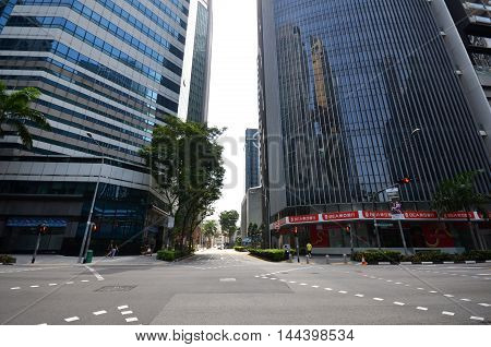 Central Business District In Singapore