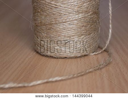 thin strong thread wrapping stitching and the like are made by twisting paper