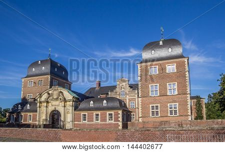 Baroque Castle In The Historical Center Of Ahaus