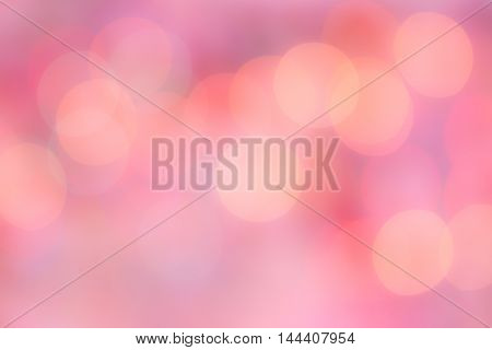 colorful circle bokeh abstract soft blur background