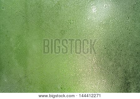 water condensate on window glass, background photo