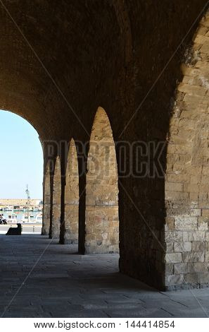 Heraklion Crete, Old Venetian Shipyards / Arsenals