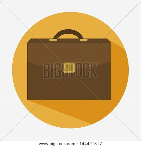 portfolio briefcase business icon vector illustration graphic