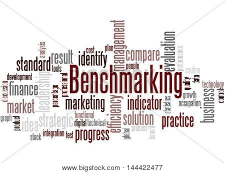Benchmarking, Word Cloud Concept 3