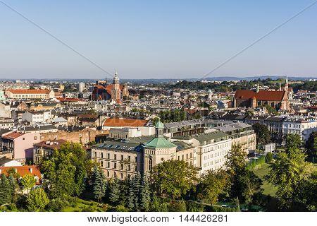 Krakow Landscape On A Sunny Day.