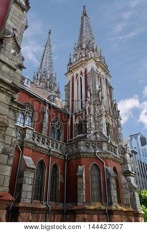 Nicholas Cathedral of the 19th century in Kiev Ukraine